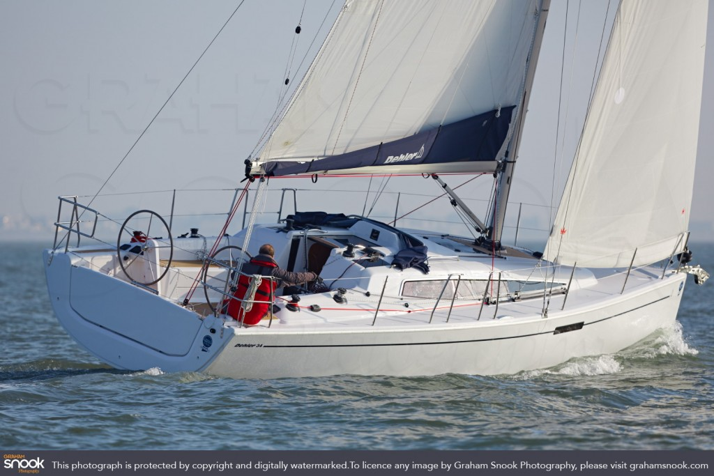 Dehler 34, New Boat Test, © Graham Snook Photography Moral Rights Asserted